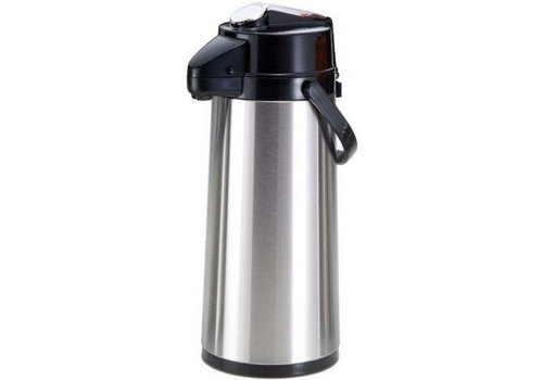 Saro Stainless steel | Pompthermoskan 2.2L