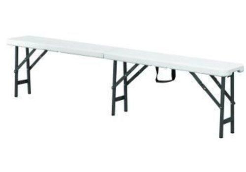 Saro Party Folding Bench | weiß