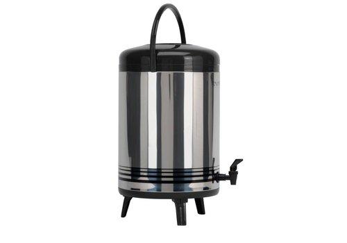 Saro RVS Heetwater Dispenser met kraan  12 Liter
