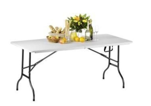 Saro Folding table white | 184 cm