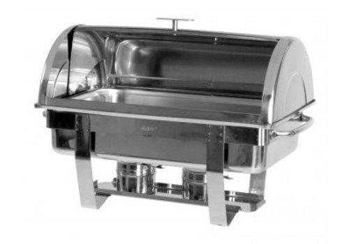 Saro Chafing Dish 1/1 GN mit Rolltop Deckel