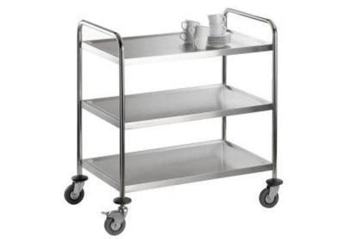 Saro Serve-Clearing trolley - 2 year guarantee 94 (h) x86x54cm