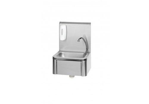 Saro Handwaschbecken Edelstahl 40 x 34 x 59,5 cm