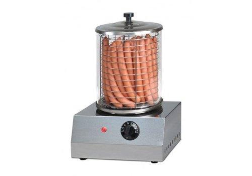Saro Hotdog Verwarmer | Rechthoekig