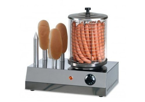 Saro Hotdog Heater | stainless