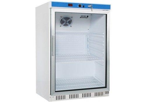 Saro Kühlschrank mit Glastür 130 Liter
