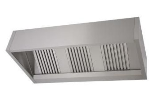 Saro Catering stoves stainless steel | 150 x 90 x 40 cm