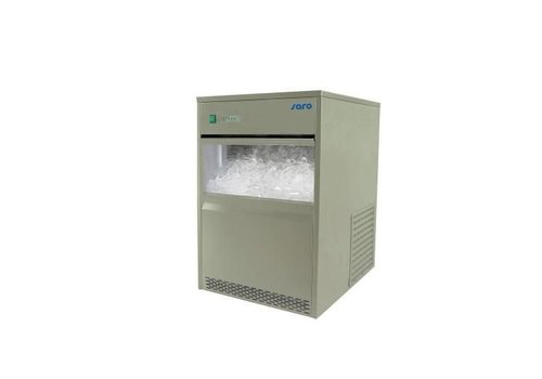 Saro Bright ice cubes machine - 26 kg / 24h