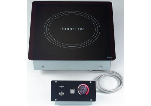 Saro Stainless steel Built-in Induction hob   2000 watts