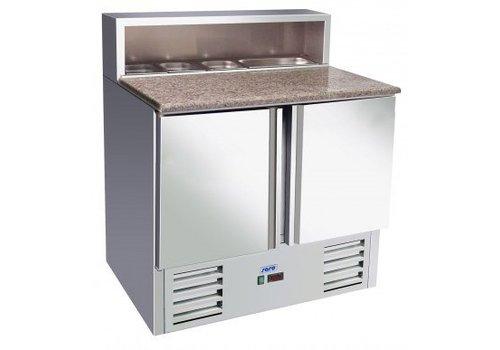 Saro Pizza Tisch mit Kühl 90x70x110 cm