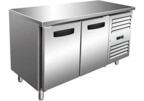 Saro Refrigerated workbench SS   136 x 70 x 89/95 cm
