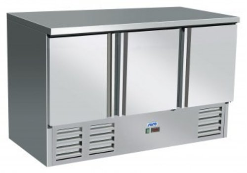 Saro Kühlwerkbank Edelstahl | 136 x 70 x 85 cm