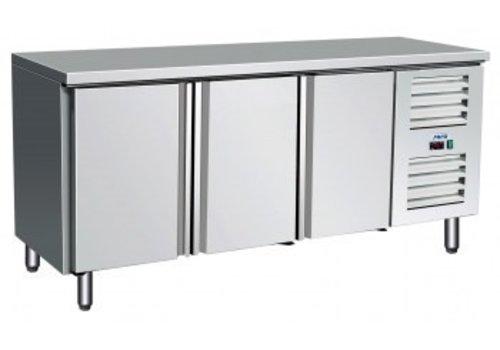 Saro Kühltisch Edelstahl | 179 x 70 x 89/95 cm