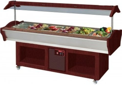 Saro Cool buffet Island Model MARYAM 6 Mahogany