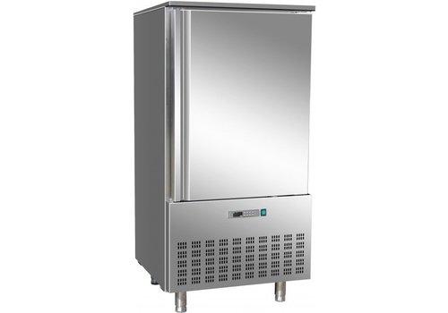 Saro Stainless steel Blast chiller / freezer Fast 10 x 1/1 GN | 368 liter