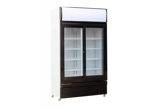 Combisteel Fridge Glass Sliding Doors | 780L