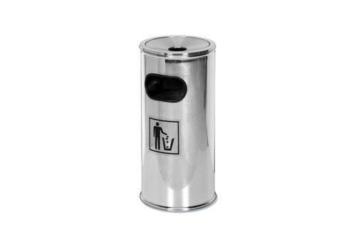 Saro Dustbin with ashtray | Ø30 cm