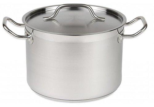HorecaTraders Cooker medium high Stainless steel | 6 Formats
