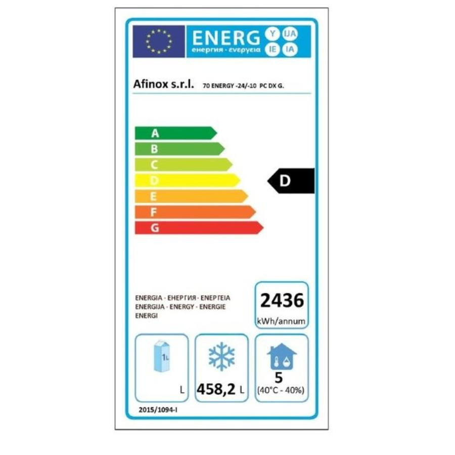 Mekano Energy 700 vrieskast    1 deurs