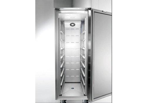 Afinox Business refrigerator MEKANO GREEN 400 TN S EN | MEK403