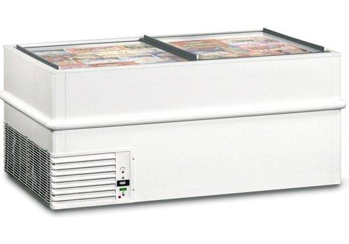 Framec Energiesparender Gefrierschrank mit Schiebefenstern VT150ES