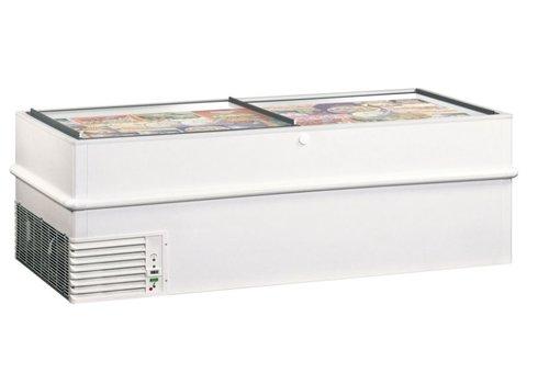 Framec Energiesparender Gefrierschrank mit Schiebefenstern VT200ES