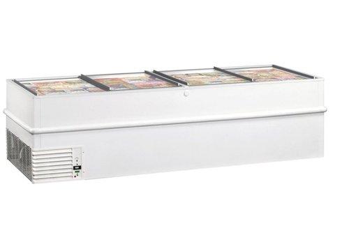 Framec Energieeffiziente Gefrierschrank mit Schiebefenster VT250ES