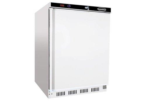 Combisteel Statischer Kühlschrank | Weiß 130 Liter | 1 Tür