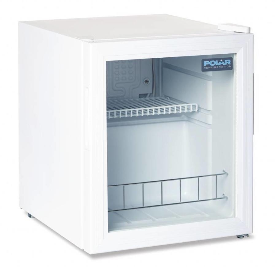 Premium Mini Fridge | Wit | Dubbel glas | 46 Liter