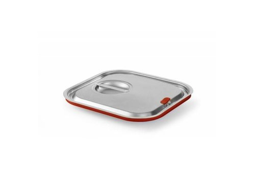 Hendi Gastronorm Lid with Silicone rim (6 formats)