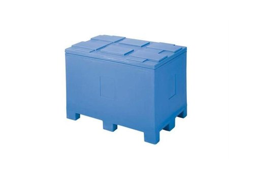 HorecaTraders Container auf Palettenfüßen - 450 L - 60x40x54cm