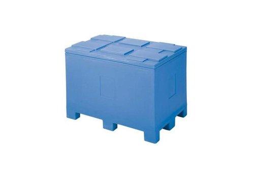 HorecaTraders Isotherme Container op Palletvoeten - 450 L - 60x40x54cm