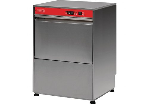 Gastro-M Dishwasher | Stainless steel 400V | 60 (b) x62 (d) x82 (h) cm