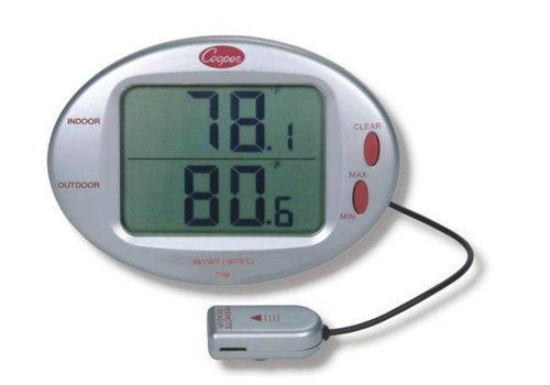 Cooper Atkins Digitale Indoor/Outdoor thermometer