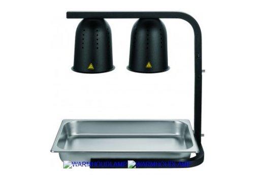 HorecaTraders Warming light 0.5 (2x 0.25) kW