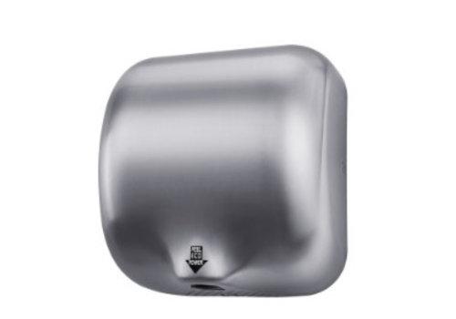 HorecaTraders Handtrockner aus Edelstahl 74 dB