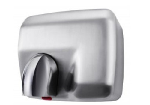 HorecaTraders Hand dryer silver 42 ° C