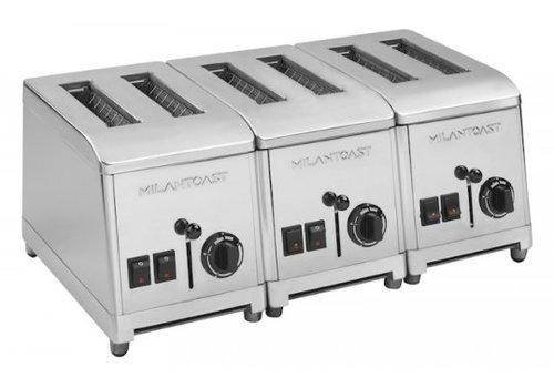 Milan Toast Toaster 6 Slots