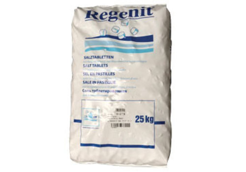 HorecaTraders Bag with Salt for Softener 25 kg