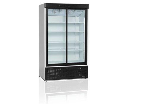 Tefcold Bottles refrigerator with 2-door Glass 895 liters