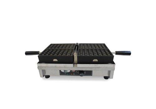 Single waffle iron 4x7 Liège waffles | 440x260x150 mm