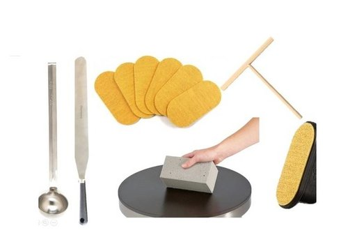 professional crepepan accessories