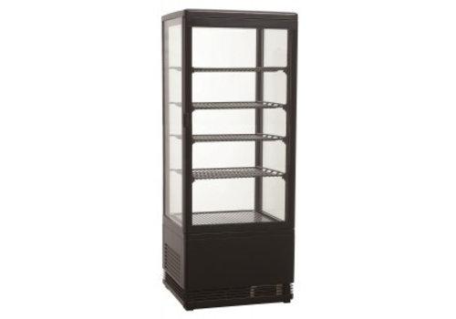 Combisteel Refrigerated display case Black | 98L