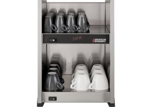 Bravilor Bonamat Stainless steel cup warmer | WHK | Anthracite