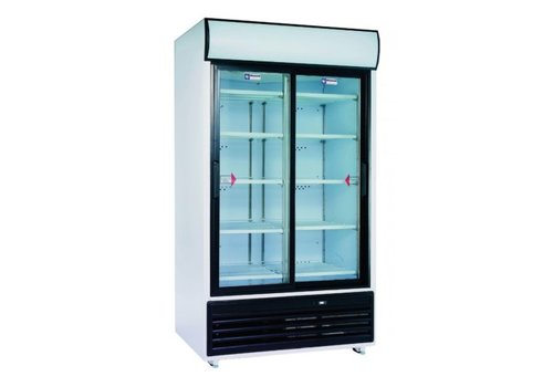 Diamond Display Koelkast | Wit | 875 Liter | Glazendeur