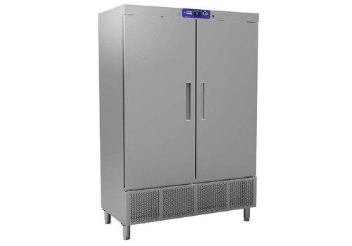 Diamond Professional Fridge   Stainless steel   2-doors   1100 liters
