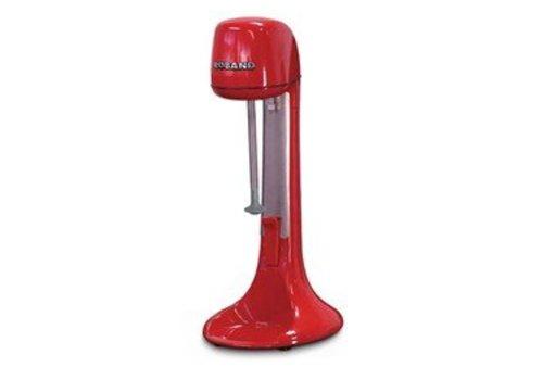 Roband Milchshake-Mixer - rot - 2 Geschwindigkeiten