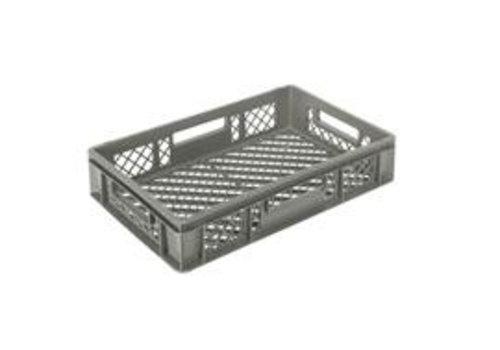 Kunststoffkiste stapelbar grau 60 x 40 | 7 Formate