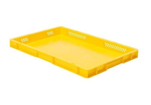 Plastic storage bins 60 x 40 cm 5 colors