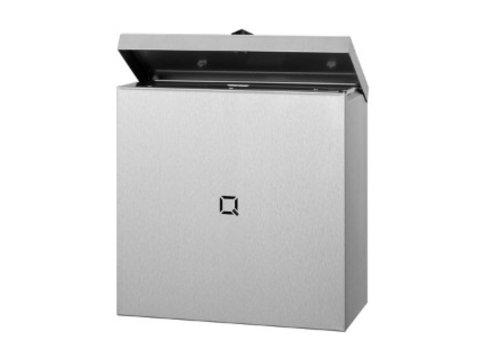 HorecaTraders Hygienebehälter aus Edelstahl 9 Liter